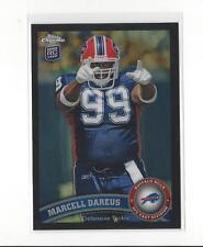 2011 Topps Chrome Black Refractor #124 Marcell Dareus Rookie Bills /299
