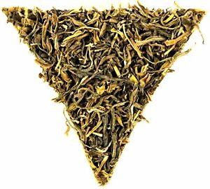 Nepal Kanchanjangha FTGFOP Grade 1 Green Organic Tea Finest Tippy Golden Flowery
