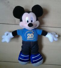 Mickey Mouse Disneyland Paris 20 year anniversary Soft Toy