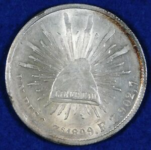 1899-Zs Mexico 1 Peso Silver Coin