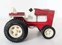 Vintage 1972 Tiny Tonka Farm Tractor  No 685, 811002, Red & white