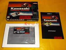 KAWASAKI CARIBBEAN CHALENGEL Super Nintendo Snes  NTSC Americano ○ COMPLETO