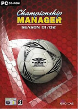 CM 01/02 Championship Manager Season 2001/2002 PC Game (DISC + UPDATES) Football