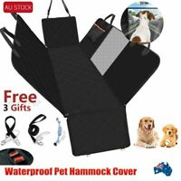 Waterproof Premium Pet Cat Dog Back Car Seat Cover Hammock NonSlip Protector Mat