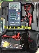 Process Calibrator 4-20mA 0-12V Frequency 2-50KHz K J E T Type Thermocouple