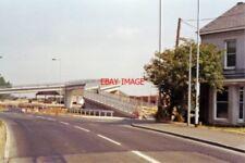 PHOTO  EYE GREEN FOR CROWLAND RAILWAY STATION NORTHAMPTONSHIRE SITE 1991 M&GNR J