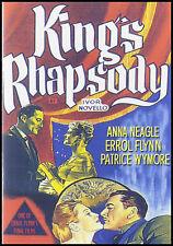 KING'S RHAPSODY - 1955 - Errol Flynn, Anna Neagle - NEW / SEALED / FREE SHIPPING
