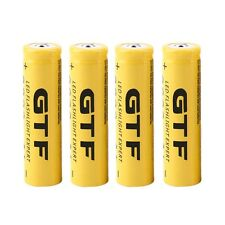 4pcs 3.7V 18650 9800mAh Li-ion Rechargeable Battery For Flashlight Torch TA
