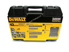DeWALT Auto Mechanic 42 Pc 3/8 Drive SAE & METRIC Impact Socket Set DWMT19248