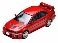 Tomytec TLV-N187b Lancer GSR Evolution V (Red) Tomica NEW from Japan