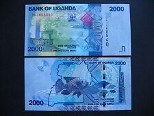 Uganda 2000 shillings 2015 (p50) UNC