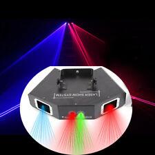 Bühnen Licht 500mW 4 Lens RGB DJ Laser Lights Party Show Bühnenbeleuchtung