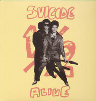 Suicide Self Titled 1977 Album Vinyl Lp Record Alan Vega