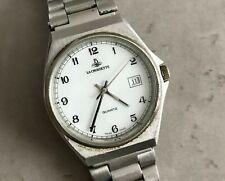 Seltene La Croisette ETA 955.412 Swiss Made Quartz watch 35mm weißes Zifferblatt...