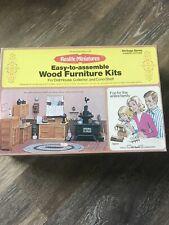 New ListingRealife Miniatures Wood Furniture Kits Heritage Series Country Kitchen Kit 194