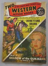 TWO WESTERN BOOKS PULP #1 SPRING 1951 WALKER A TOMPKINS NORMAN A FOX