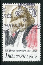 STAMP / TIMBRE FRANCE OBLITERE N° 1990A CLAUDE BERNARD /
