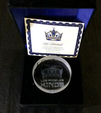 Luc Robitaille Signed Crystal Hockey Puck Limited Edition Of 500