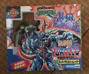 Super Turtles SUPER DEVIL Shredder Figure Mutant Ninja Turtles Superman Legends