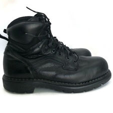 "RED WINGS #2223 6"" Men EH Work Boot Black Leather Steel Toe Lace Up US 10E2 Eu43"