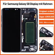 Original Samsung Galaxy S8 SM-G950F LCD Display Touch Screen Bildschirm Schwarz