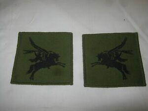 2 British Army Para Combat Jacket/Shirt PEGASUS Sew On Patch/Badge