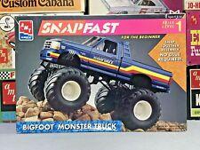 "AMT/ERTL 1993 FORD F-150 ""BIG FOOT"" MONSTER TRUCK SNAPFAST KIT#8744 MPC UNBUILT"
