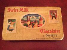 vintage Sweet's Chocolate Salt Lake City UT 2 lb Box Sweet Candy Empty