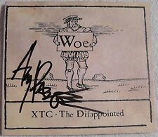 XTC - The Difappointed Woe CD Hand Signed Autographed - Andy Partridge