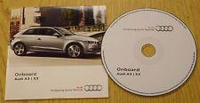 Original Audi A3 S3 Onboard CD Disc Handbook Handbuch 154.565.8V0.88