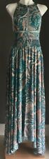 "Excellent Condition JAAESE ""Endless Summer"" Green & Beige MaxI Dress Size XS 6-8"