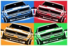 1969 Chevrolet Camaro SS 350 Photo Print Poster 13x19 Chevy Muscle Car Pop Art