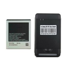 New Battery EB-L1D7IBA + Wall Charger for Galaxy S2 i9210 T989 i547 LTE i547C