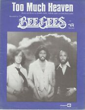 Too Much Heaven - The Bee Gees - 1978 Sheet Music