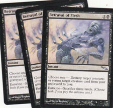 3 x Betrayal of the Flesh uncommon instant from Mirrodin (MTG)