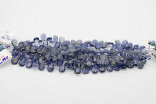 Iolite Faceted Teardrop Shape Beads