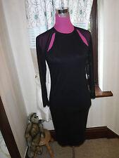 Amazing All Saints Kiara Dress Black Size 10 Excellent Condition
