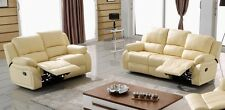 Voll-Leder Couch Sofa Garnitur Relaxsessel Fernsehsessel 5129-3+2-317 sofort