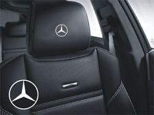 5x Mercedes Stern Aufkleber Logo Simbol für Ledersitze und andere