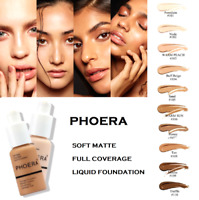 Coverage Concealer Cosmetic Longlasting Moisturizing PHOERA Liquid Foundation C
