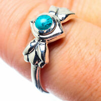 Tibetan Turquoise 925 Sterling Silver Ring Size 8.25 Ana Co Jewelry R26379F