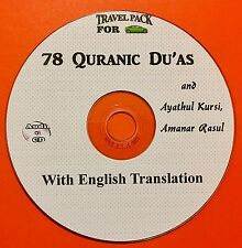 Du'a From Al Quran-Audio CD for cars With English Translation. 78 Du'as & ...-