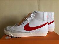 Nike Blazer Mid '77 Vintage Habanero Red White BQ6806-600 Shoes Sneakers NIB