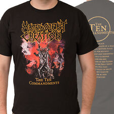 MALEVOLENT CREATION-THE TEN COMMANDMENTS-T-SHIRT-SMALL
