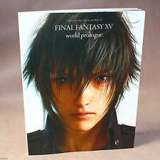 Final Fantasy XV World Prologue - game artbook NEW