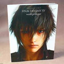 Final Fantasy XV World Prologue - game artbook NEW
