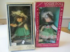 Vogue Ginny Dolls Irish Girl & 1977 Ireland With Boxes Never Played With