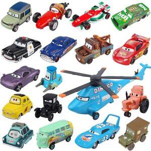 Disney pixar cars lightnng McQueen 1:55 Die cast metal alloy model car gifts