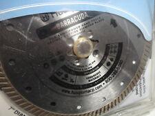 "Husqvarna 542761430 Barracuda 7"" General Purpose Saw Blade masonry, tile, stone"