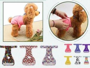 2Pc Dog Cat Female Diaper Underwear Panties Potty Reuse Washable Physiological